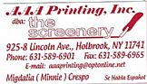 Screen Printing: