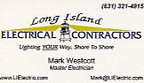 Contractor Electrical: